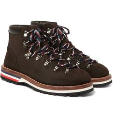 Moncler - Peak Nubuck Hiking Boots