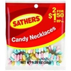 wholesale Other Whlsl Health and Beauty: Sathers Candy Necklace 12 Pack (1.35 Oz Per Pack) (Pack Of 3) -> BUY IT NOW ONLY: $31.27 on eBay!