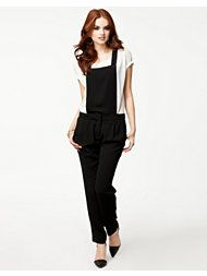 Only - kvinne - Bukser & Shorts - på nett Overalls, Shorts, Cute Crop Tops, Trousers, Pants, New Outfits, Womens Fashion, Fashion Design, Clothes