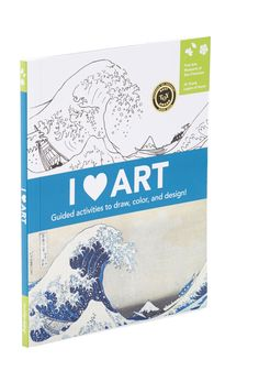 I Heart Art. Play both student and artist each time you open this interactive art book! #multi #modcloth