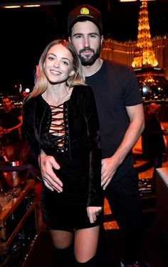 Brody Jenner and Omarion Kick Off New Year's Eve Celebrations at Hyde Bellagio (Pictured: Kaitlynn Carter and Brody Jenner – Photo credit: Bryan Steffy / WireImage / www.BryanSteffyPhoto.com).