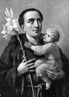 Saint Anthony of Padua / Patron Saint of Lost Things