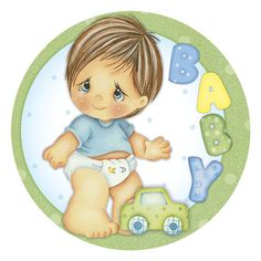 Litoarte Scrapbook Bebe, Scrapbook Cards, Scrapbooking, Baby Clip Art, Baby Art, Baby Posters, Baby Album, Children Images, Baby Crafts