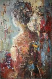 The Modern Art Movements – Buy Abstract Art Right Figure Painting, Oil Painting On Canvas, Abstract Face Art, Figurative Art, Painting Inspiration, Female Art, Watercolor Art, Modern Art, Art Drawings