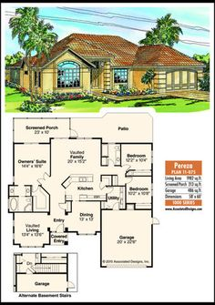 Home offers formal and informal spaces Exterior Design, Interior And Exterior, Family Life, House Plans, Room Ideas, June, Floor Plans, Cottage, House Design