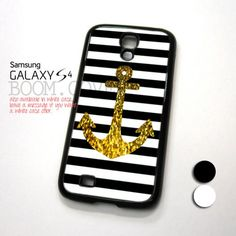 Anchor Gold Bling design for Samsung Galaxy S4 Case | OpankOwn - Accessories on ArtFire