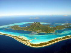 Maravilhas do mundo - Bora Bora - Metamorfose Digital
