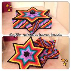 Star box hama beads by manuelalr