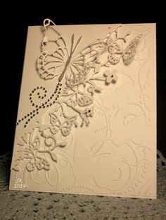 VSNMAR14D Butterflies in Flight by mother's daughter - Cards and Paper Crafts at Splitcoaststampers