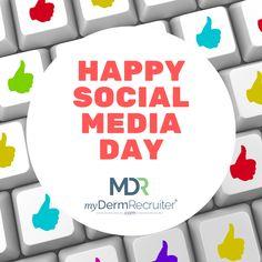 Happy Social Media Day!! 😁 Social Media, Day, Fictional Characters, Social Networks, Fantasy Characters, Social Media Tips