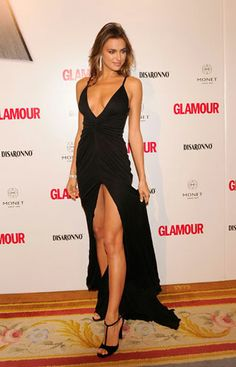 Irina Shayk - Classy Black Dress - Beauty in High Heels