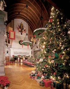 Christmas at The Biltmore Estate, Ashville, North Carolina