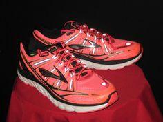 Mens Brooks Transcend Running Shoes Size 10 Oran/Blk/White #Brooks #Fitness #diet #workout