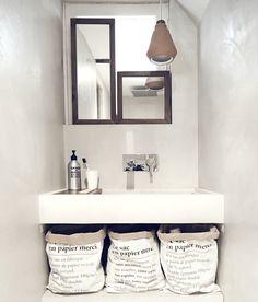 9 Truthful Cool Tips: Attic Apartment Industrial attic bathroom secret rooms. Attic Playroom, Attic Rooms, Attic Library, Attic Office, Zeitgenössisches Apartment, French Apartment, Attic Organization, Attic Storage, Smart Storage