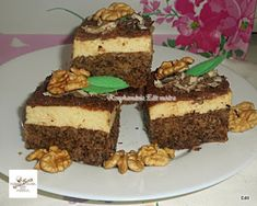 : Egy tojásos csodasüti **Katt a képre, ha érdekel a receptje is** Tiramisu, Cooking Recipes, Ethnic Recipes, Cakes, God, Cooker Recipes, Pastries, Tiramisu Cake, Torte