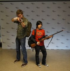 The Last Of Us Cosplay. I wanna do this! I just need someone to do Ellie