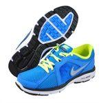Nike Childrens Dual Fusion Run (GS) Blue running shoes