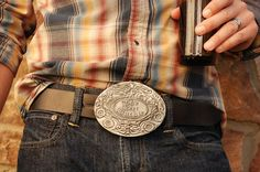 A Belt Buckle that Holds Your Beer