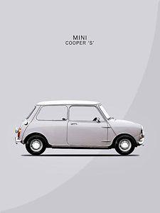 Mini Cooper Photograph - The Mini Cooper by Mark Rogan