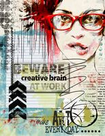 #art #journal Mixed Media Journal, Mixed Media Collage, Collage Art, Collages, Art Journal Pages, Art Journals, Visual Journals, Mixed Media Faces, Art Journal Inspiration