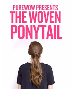 """This easy ponytail upgrade gives a loot of oomph for a little effort., Easy hairstyles, """" This easy ponytail upgrade gives a loot of oomph for a little effort. Source by purewow. Trendy Hairstyles, Braided Hairstyles, Short Haircuts, Simple Ponytail Hairstyles, Ponytail Hairstyles Tutorial, Layered Hairstyles, Beautiful Hairstyles, Super Hair, Hair Videos"""