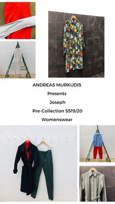 The atmosphere in ANDREAS MURKUDIS captures a freedom and tranquility that sets it apart from the usual, fast-paced retail world. Joseph, Bomber Jacket, Women Wear, Digital, Pants, Jackets, Collection, Fashion, Trouser Pants