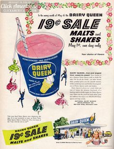 We're taking a look back thru the decades at some Vintage Fast Food Print Ads. See what your favourite joints used to bring people through the doors. Old Advertisements, Retro Advertising, Retro Ads, Retro Vintage, Vintage Food, Retro Food, Vintage Candy, Retro Recipes, Vintage Recipes
