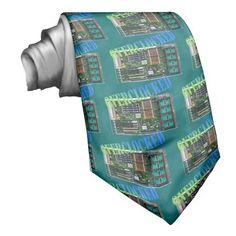 overclocked neck ties
