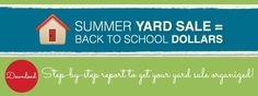 7 Step to a Summer Yard Sale