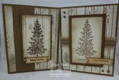 Very Vanilla, Soft Suede, Hardwood background and Lovely As a Tree.
