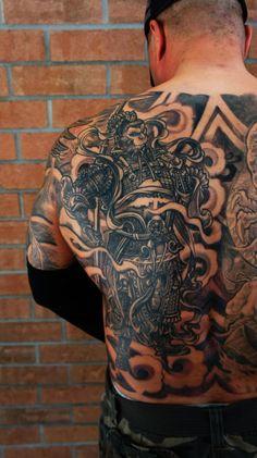 monkey king tattoo by csaba #cultural #tattoo #tattoos