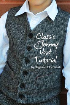 Elegance   Elephants  Elegance   Elephants - Classic Johnny Vest Tutorial -  Very Loose Tutorial be90a77c7c