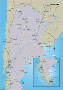 Map of buenos aires argentina and vicinity south american maps map of buenos aires argentina and vicinity south american maps pinterest argentina travel maps and buenos aires gumiabroncs Image collections