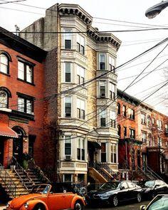 #Houses in #Hoboken, #NJ.