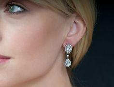 glamorous wedding earrings