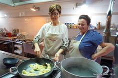 """""""Learning the art of cooking pasta in Italy"""" by @thebohochica"""