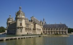 Chantilly-Palast Frankreich wallpapers and stock photos