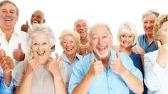 Personas mayores más saludables