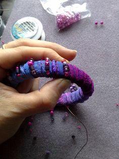 Earthshine: Upcycled Sari Silk Bangles Tutorial