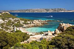 Cala Cosara  Sardinia's best beaches, from sandy to pebbly to pink   Weather2Travel.com #italy #beach #travel