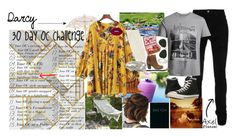 """""""30 Day OC challenge: Day six"""" by potato-cloud ❤ liked on Polyvore featuring AMIRI, Jack & Jones, Steve Madden, Goen.J, Chloé, Ray-Ban, Lime Crime, Piccadilly, Miss Selfridge and Converse"""