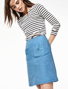 Cambridge Skirt WG609 Above Knee Skirts at Boden