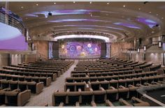 The Orpheus Theater on the Enchantment of the Seas