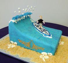 Cake Fiction: Surf Dude Bar Mitzvah Cake