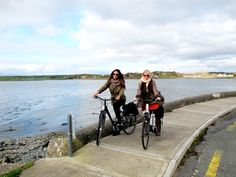 Cycling tour around the town of Westport and the Atlantic coastline of Clew Bay.