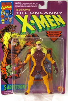 Sabretooth Action Figure