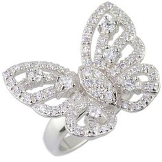 Mariah Carey butterfly ring