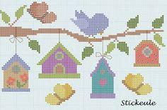 Stickeules Freebies: Primavera