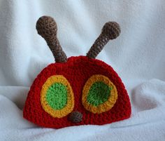 Children's Very Hungry Caterpillar Crochet Hat by Babyinthehat, $18.00