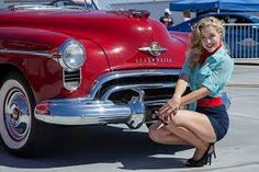 50s girl car - Google Search